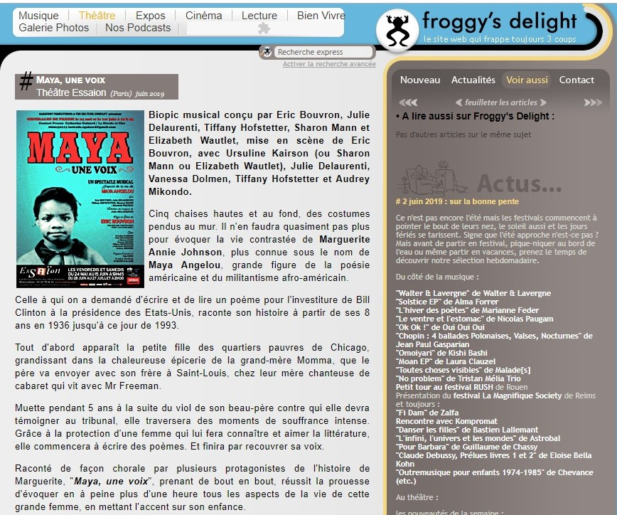 article froggy